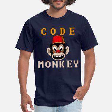 Code Monkey Code monkey - Men's T-Shirt