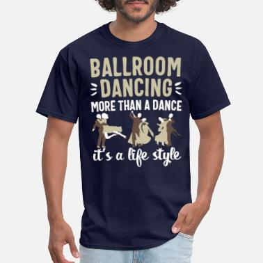 Sparkle Ballroom dancing women men dancer couple dance - Men's T-Shirt