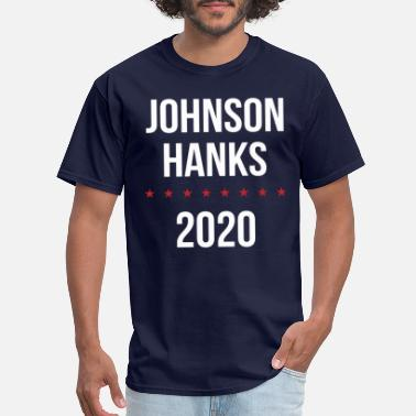 Tom Hanks Johnson Hanks 2020 - Men's T-Shirt
