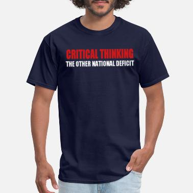Thinking Critical Thinking - Men's T-Shirt