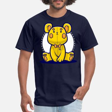 Yellow Bear Yellow Teddy Bear - Men's T-Shirt