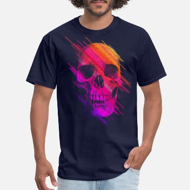 Skull Colorful Skull - Men's T-Shirt