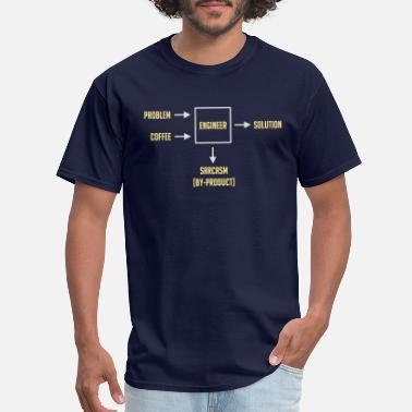 Computer Engineering Sarcasm By-product - Men's T-Shirt