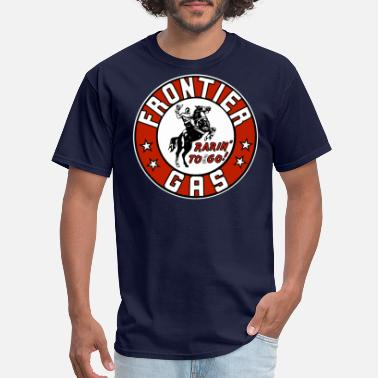 Gas Frontier Gas - Men's T-Shirt