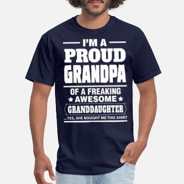 Proud Grandpa Proud Grandpa.... - Men's T-Shirt