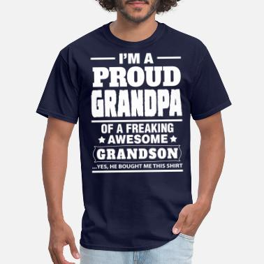 Proud Grandpa Proud Grandpa....... - Men's T-Shirt