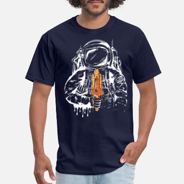 Spaceman Astronaut Space Spaceman Moon Mars Planets Perfect - Men's T-Shirt