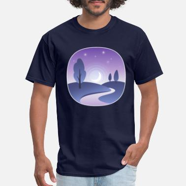 Panorama Panorama Night - Men's T-Shirt