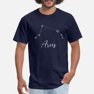 Constellation Aries Zodiac Aries Constellation 01 - Men's T-Shirt