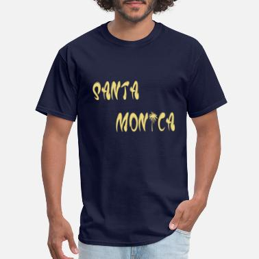 Santa Monica 2 - Men's T-Shirt