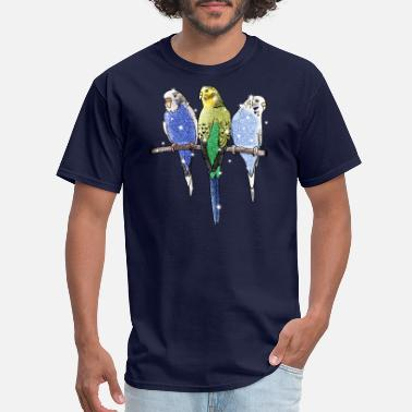 Budgie Budgie Budgerigar Bird - Men's T-Shirt