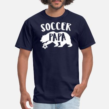 Outfield Soccer Dad Gift - Men's T-Shirt