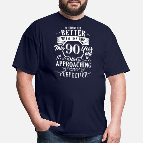 Funny 90th Birthday Design Mens T Shirt