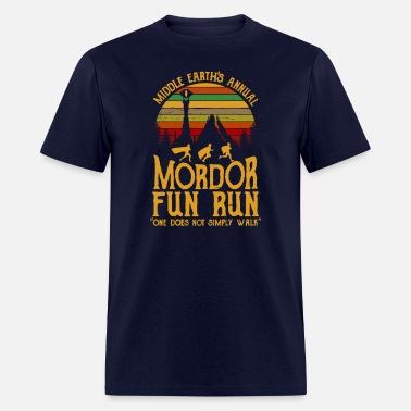 90264b0f Middle Earth s Annual Mordor Fun Run Men's Longsleeve Shirt ...