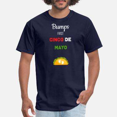 Cinco De Mayo Baby Bumps first Cinco de Mayo - Men's T-Shirt