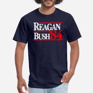 Reagan Bush Reagan Bush 84 - Men's T-Shirt