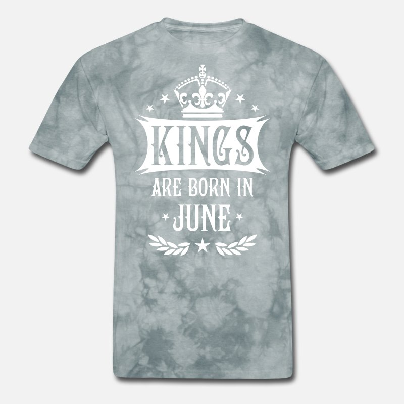 c7d4def36 17 Kings are born in June King Happy Birthday Men's T-Shirt | Spreadshirt