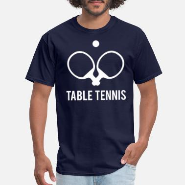 Table Tennis Paddle Table Tennis - Men's T-Shirt