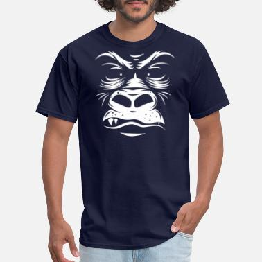 Funny Animal Gorilla Reversed Funny Animal - Men's T-Shirt