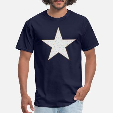 Design Basic Classic Star Design - Men's T-Shirt