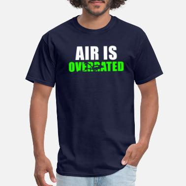 Freediving Air is overrated - Men's T-Shirt