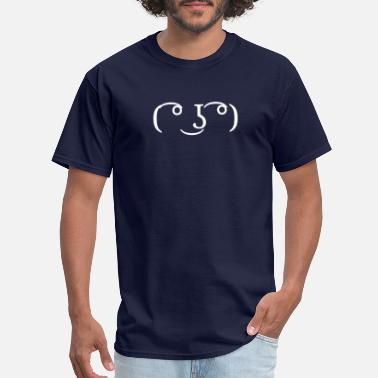 Ascii Meme ASCII Face No.1 - Men's T-Shirt