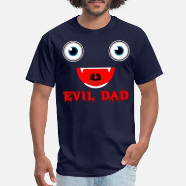Vegans Are Evil Evil Dad - Men's T-Shirt