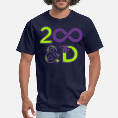 2-d 2 Infinity And B On D - Men's T-Shirt
