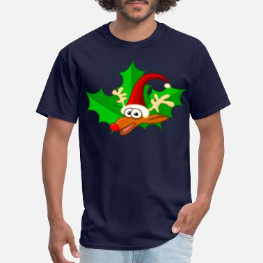 Red Nose Rudolph, the red-nosed reindeer - Men's T-Shirt