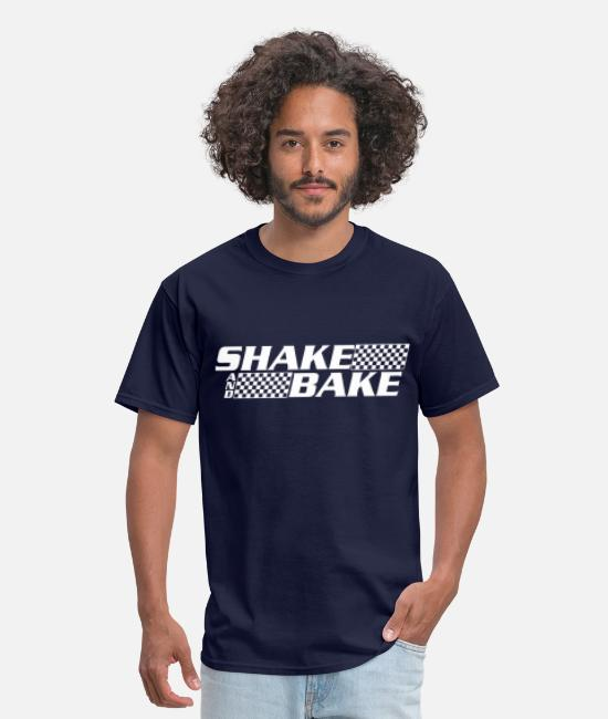 Movie T-Shirts - SHAKE AND BAKE - Men's T-Shirt navy