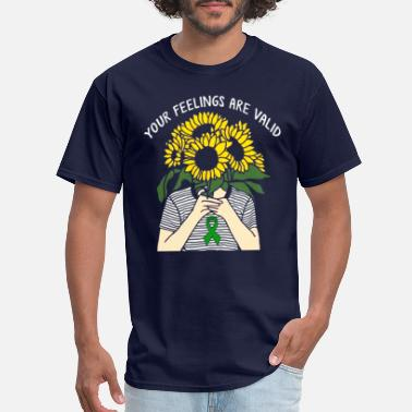 Mental Health Awareness Month Your Feelings Are Valid Mental Health Awareness - Men's T-Shirt