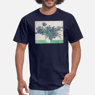 Rémy Irises 1890 Vincent Van Gogh Art - Men's T-Shirt