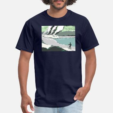 Geyser Rotorua Mud Pools and Shooting Geysers WPA - Men's T-Shirt