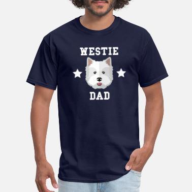 Westie Westie Dad Dog Owner - Men's ...