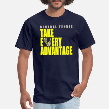 Tennis Nerd Central Tennis - Men's T-Shirt