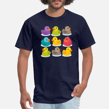 Rubber More rubber ducks to the people! - Men's T-Shirt