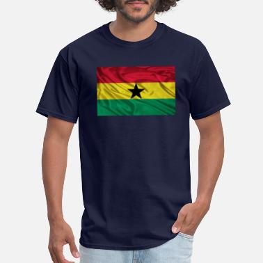 Ghana Flag Ghana-Flag - Men's T-Shirt