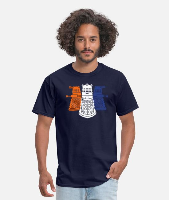 Geek T-Shirts - daleks 3 colors - Men's T-Shirt navy