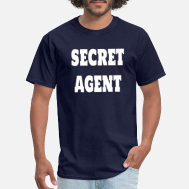 Secret Secret Agent - Men's T-Shirt