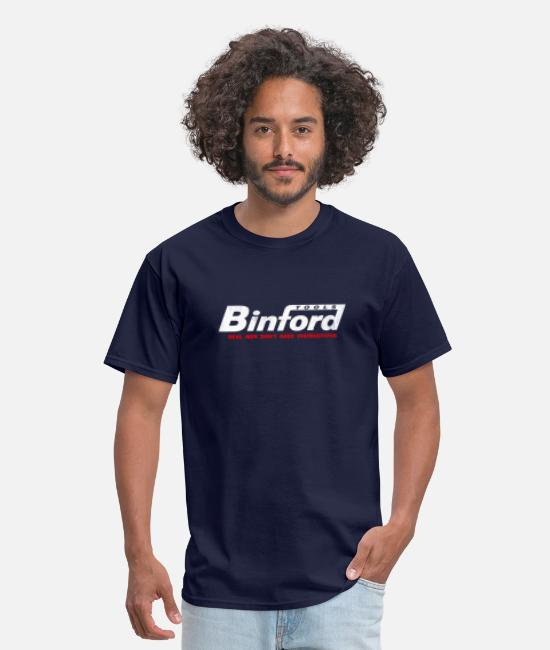 Binford T-Shirts - Binford - Men's T-Shirt navy