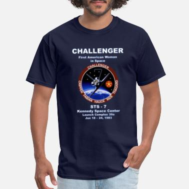 Stem NASA Space Shuttle STS-7 Vintage Crew Shirt - Men's T-Shirt