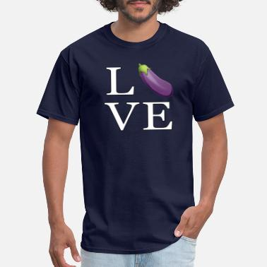 Penis Icons Love Zucchini _emoji icon smiley Penis Sex - Men's T-Shirt