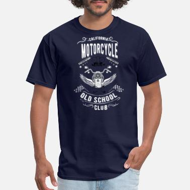 Motorcycle Old School California motorcycle old school - club edition - Men's T-Shirt