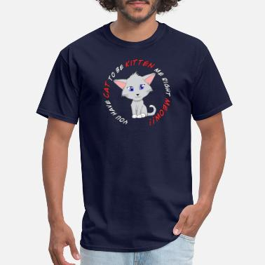 Frustration Frustrated Kitty - Men's T-Shirt