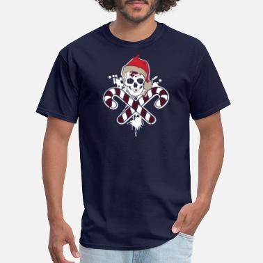 Flags Gangster Gangster Skull and Crossbones Christmas Pirate - Men's T-Shirt