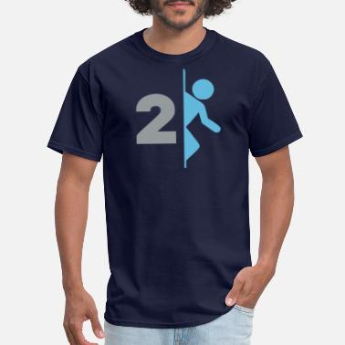 Portal 2 Portal 2 Game Logo - Men's T-Shirt