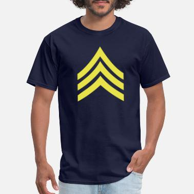 Sergeant army rank patch sergeant - Men's T-Shirt