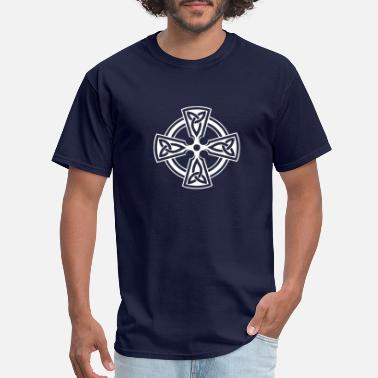 Celtic Symbol IRISH CELTIC CROSS New - Men's T-Shirt