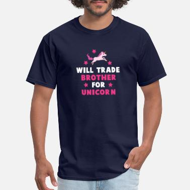 Trade will trade brother - Men's T-Shirt