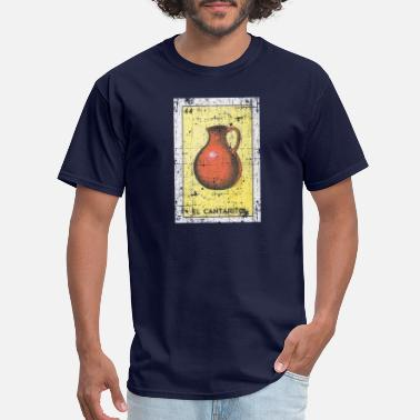 Mexicana El Cantarito Loteria Mexican Bingo Card - Men's T-Shirt